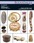 Bleasdales Auction Catalogue of Antique Sewing Tools Winter 2017