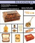 Bleasdales Auction Catalogue of Antique Sewing Tools Winter 2015