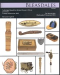 Bleasdales Auction Catalogue of Antique Sewing Tools Winter 2014