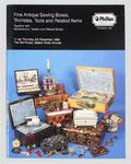 Auction Catalogue of Antique Sewing Tools 1996